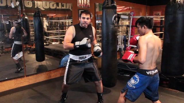 Jorge's SHUFFLE Step Advance
