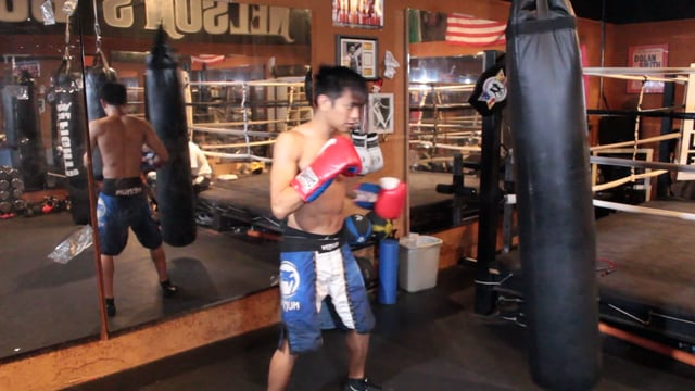 Punching Rhythm Drills for Heavy Bag