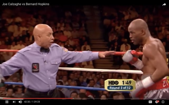 Bernard Hopkins – boxing video study